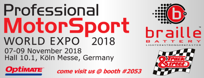 Professional_Motorsport_Expo_2018_booth_2053_Track__Street
